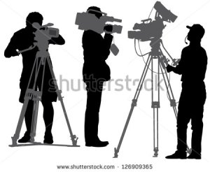stock-vector-cameraman-silhouette-on-white-background-126909365